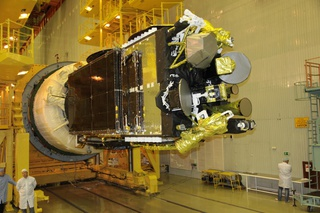 RSCC's Express AM6 satellite. Photo: RSCC